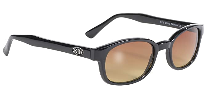 Pacific Coast Original KD\'s Biker Sunglasses with \'Blue Buster\' Lens ...