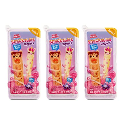 Num Noms Snackables Dippers Series 2 Scented Mystery Collectables Lot of 4