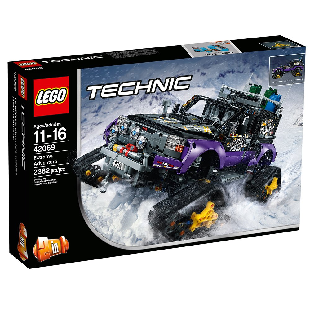 $129.45 ( was $239.99) LEGO Technic Extreme Adventure Building Kit, 2382 Piece