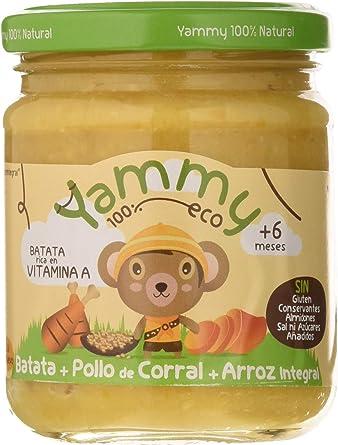 Yammy, Potito Ecológico de Pollo (Batata, Pollo de Corral ...
