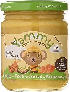 Yammy, Potito Ecológico de Pollo (Batata, Pollo de Corral, Arroz Integral)