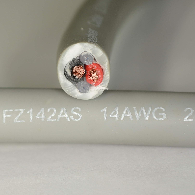 Furez FZ142AS 14 AWG 2 B07JYND38Y コンダクター 14 アドバンス インウォール 500フィート CL3 定格スピーカーケーブル 純銅 C10100-99.997% OFHC (酸素料金、高導電率) - 500フィート B07JYND38Y, キクチシ:2e0aba63 --- pvosasco.org.br