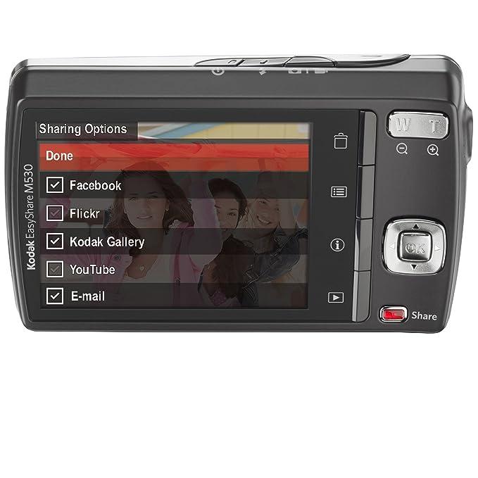amazon com kodak easyshare m530 12 mp digital camera with 3x wide rh amazon com  kodak easysharem340 manual for windows8