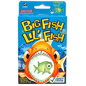 Altatac: big fish lil' fish playing card set with instructions 2-6.