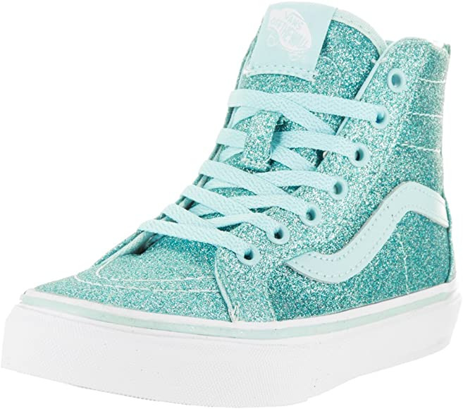 | Vans Kids Girls' Sk8 Hi Zip (Little Big Kid