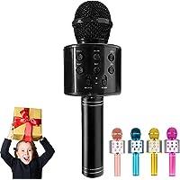ULTRA INFINITY Wireless Microphone, Portable Cordless Mic Handheld Karaoke Family Kids Player KTV Speaker for Children…