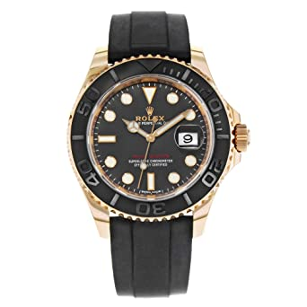 354a8411860 Image Unavailable. Image not available for. Color  Rolex Yacht-Master 40  Everose Gold ...