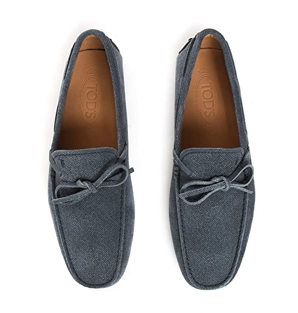 Tods - Mocasines para hombre Hellblau/Grau IT - Marke Größe, color, talla 40.5 IT - Marke Größe 6.5: Amazon.es: Zapatos y complementos