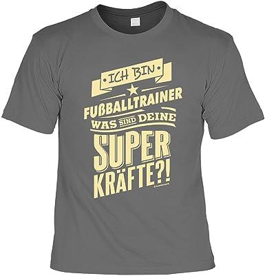 Unbekannt Fussballtrainer Tshirt Geschenk Fussball Trainer Ich Bin