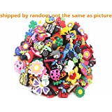 Lot of 50 Mixed PVC Different Shoe Charms for Croc & Jibbitz Bands Bracelet Wristband
