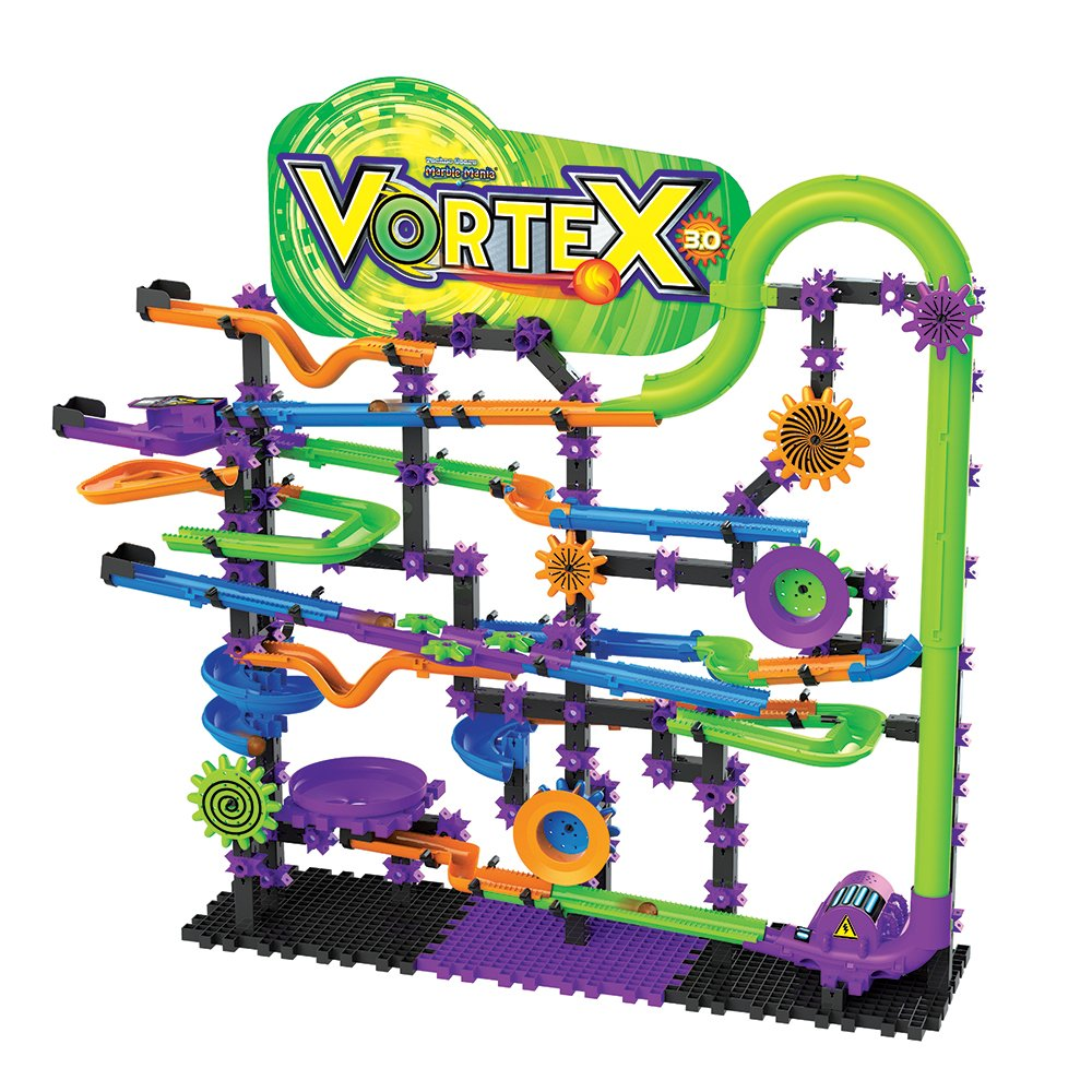 Amazon.com: Techno Gears Marble Mania Vortex 3.0 (300+ pcs): Toys & Games