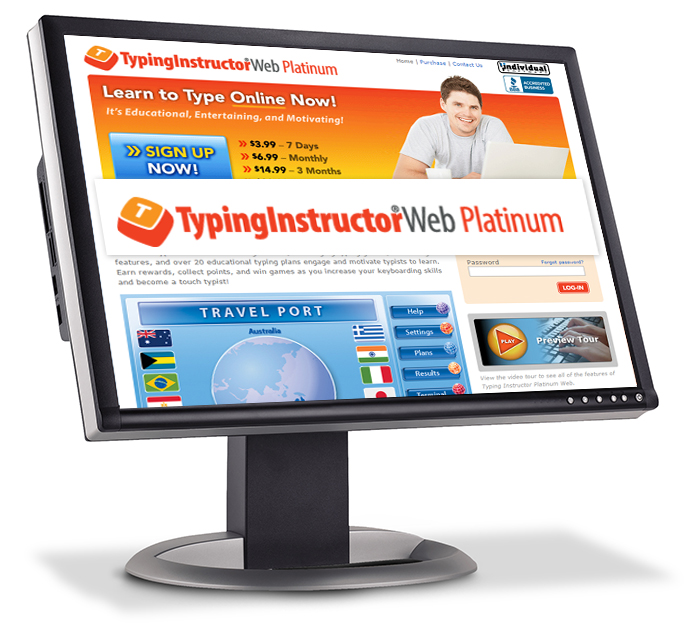 Typing Instructor Web Platinum - Annual Subscription [Online Code] by Individual Software