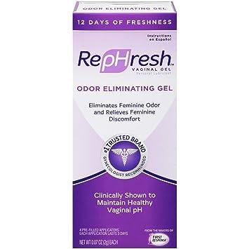 Eliminating feminine odor