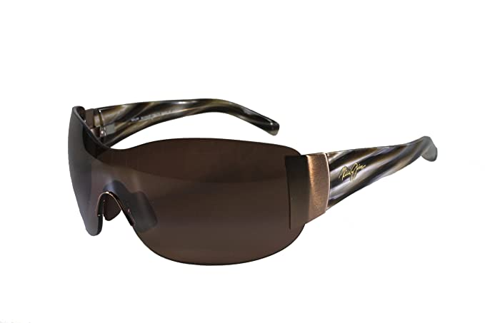 23f6d471134 Image Unavailable. Image not available for. Colour  Maui Jim KULA Sunglasses  - H514-23 - Metallic Gloss Copper Frame - HLC Bronze