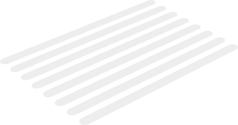 Alfombrilla Antideslizante valneo 8 Cintas Antideslizantes para la Ducha y ba/ñera Transparente para una Larga Vida de Uso Alfombra Antideslizante Pegatina Antideslizante Cinta Antideslizante