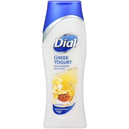 Dial Moisturizing Body Wash, Greek Yogurt 16 oz Pack of 2