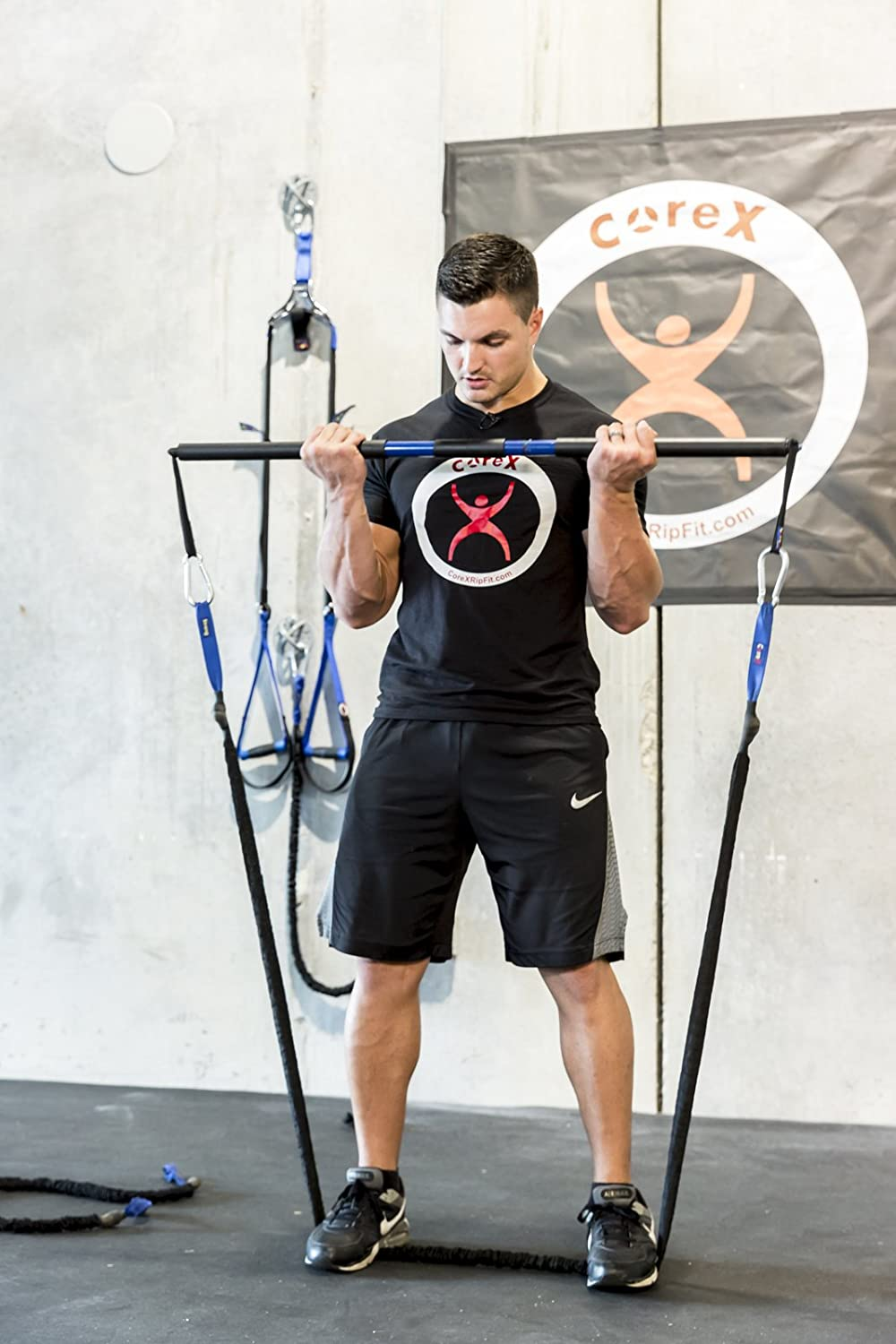 CoreX RipFit Trainer/Functional Fitness Stick by