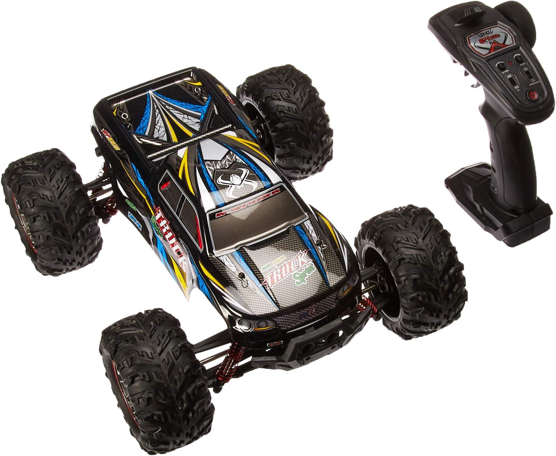 amazon com cars remote \u0026 app controlled vehicles toys \u0026 gameshosim large size 1 10 scale high speed 46km h 4wd 2 4ghz remote
