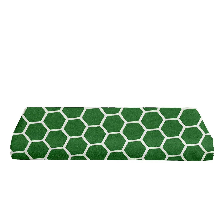 Honeycomb Burgundy BKB Changing Pad Cover