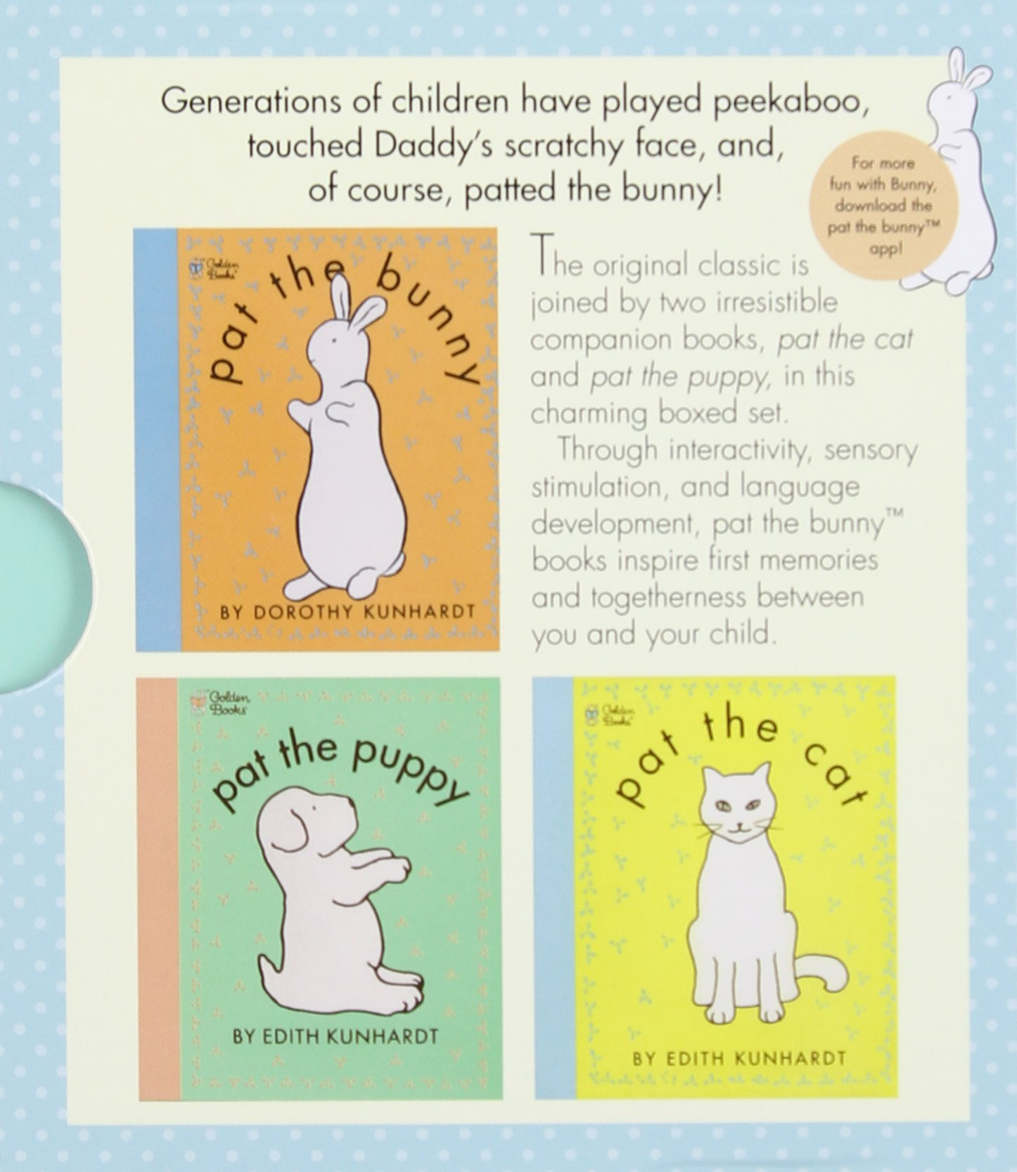 Pat the Bunny: First Books for Baby (Pat the Bunny) (Touch-and-Feel) by Golden Books (Image #3)