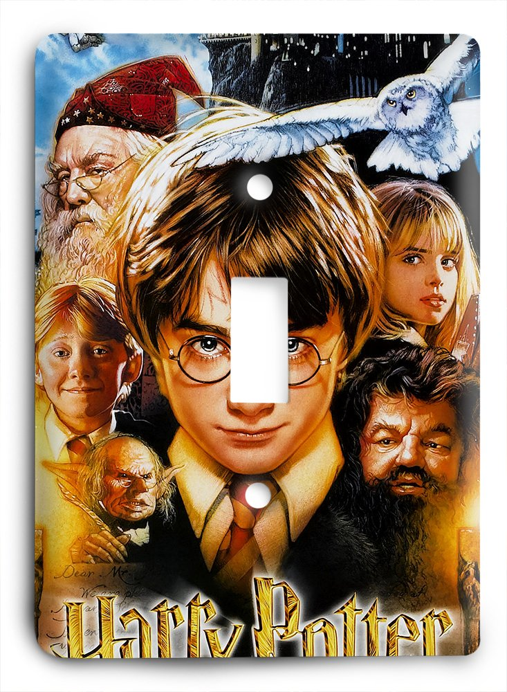 Harry Potter Movie Poster Light Switch Cover