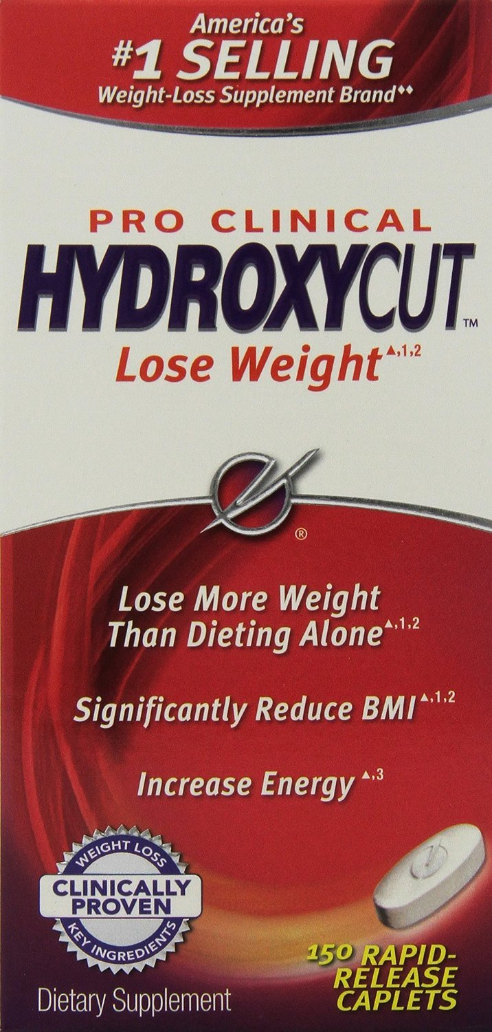 Hydroxycut Pro Clinical Weight Loss Pills Jumbo Value Package 300 Caplets Total
