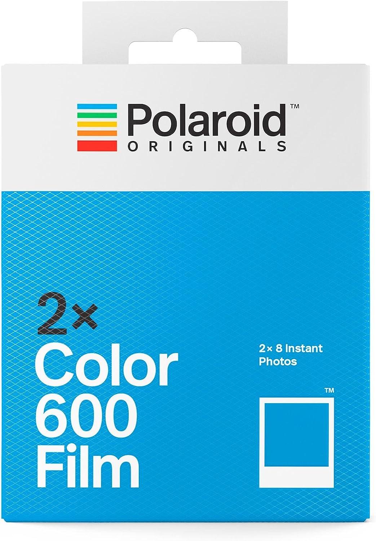 Polaroid Originals 4841 - Paquete Doble película Color para 600 y ...