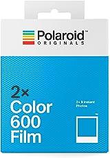 Polaroid Originals Instant Color Film for 600 - Double Pack, White (4841) - Amazon Exclusive