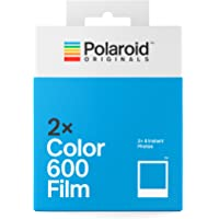 Polaroid Originals Instant Color Film for 600 - Double Pack, White (4841)