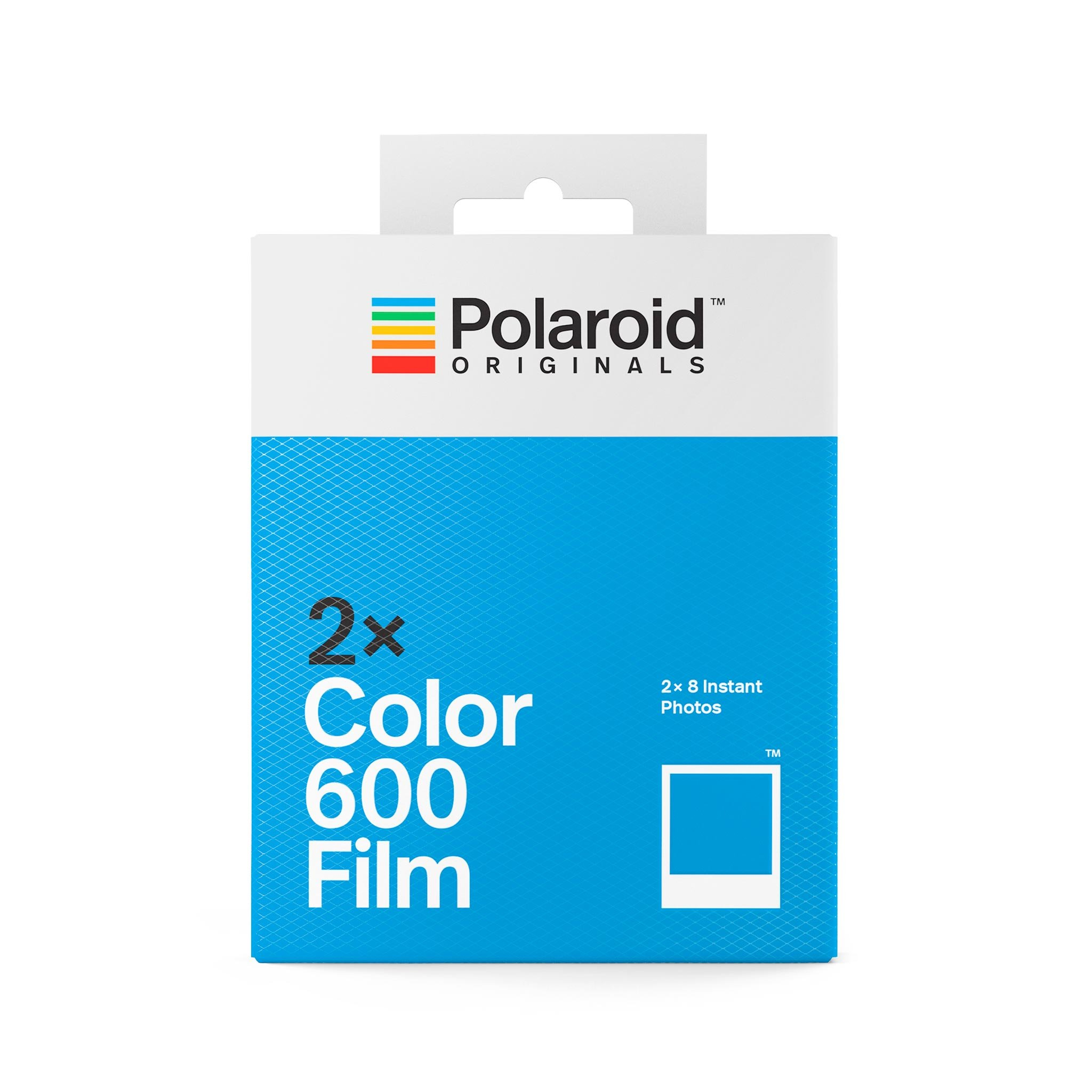 Polaroid Color 600 Film White X 2