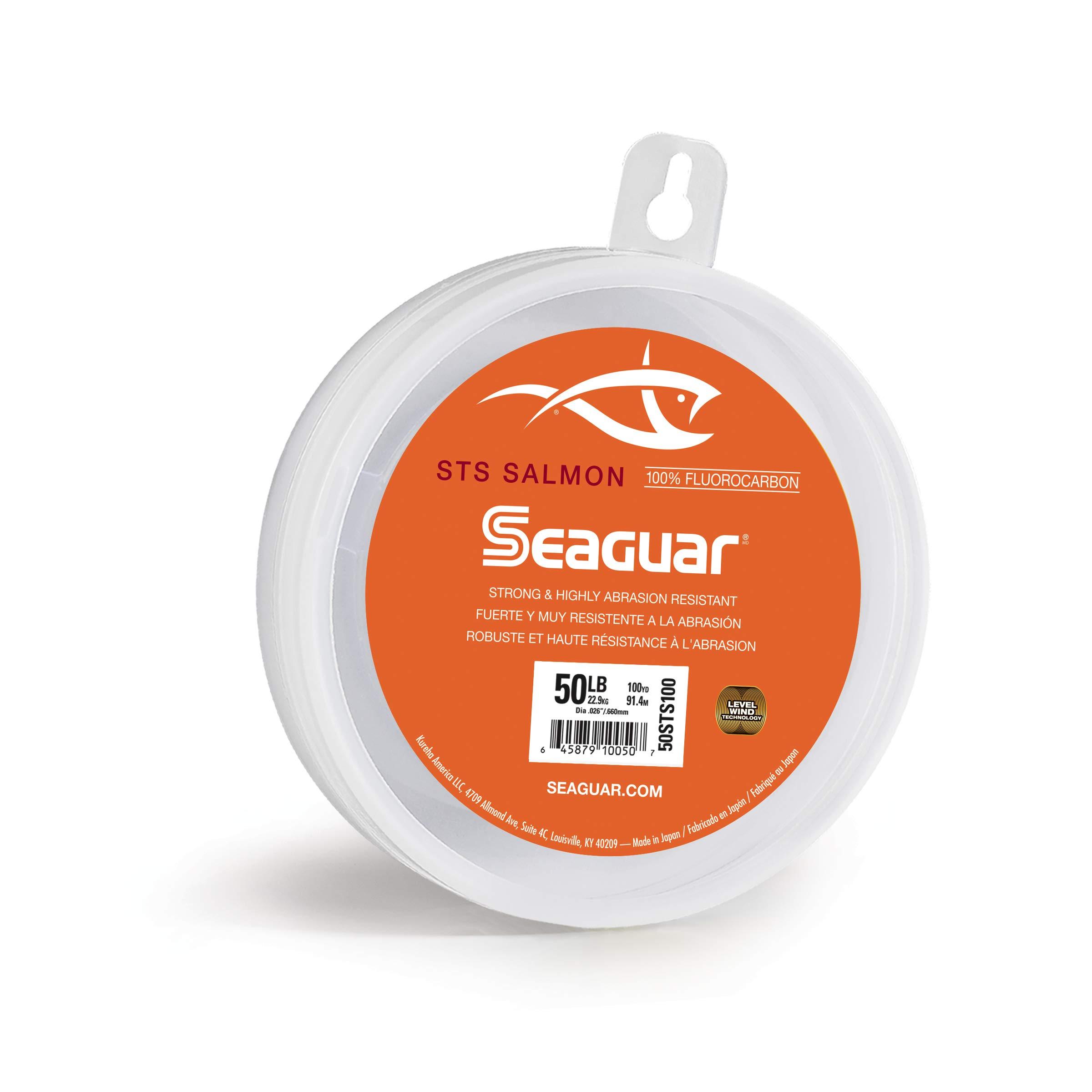 80 lb Seaguar 100/% Fluorocarbon WIND-ON Leader