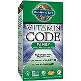 Garden of Life Family Multivitamin Supplement - Vitamin Code Raw Whole Food Multivitamin for Men, Women, and Kids, Vegetarian, 120 Capsules