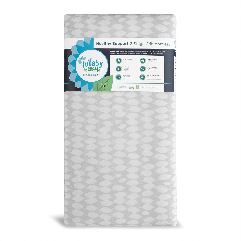 Origional Lullaby Earth Healthy Support Crib Mattress Beige