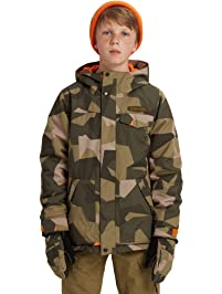 Burton Boys Dugout Jacket, Celestial/Mood Indigo, Large