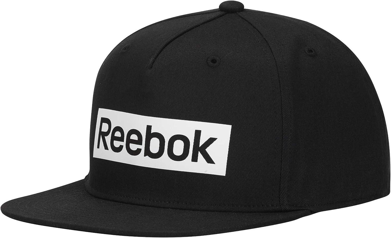 Reebok Linear Logo Cap Gorra, Hombre, humblu, Talla Única: Amazon ...