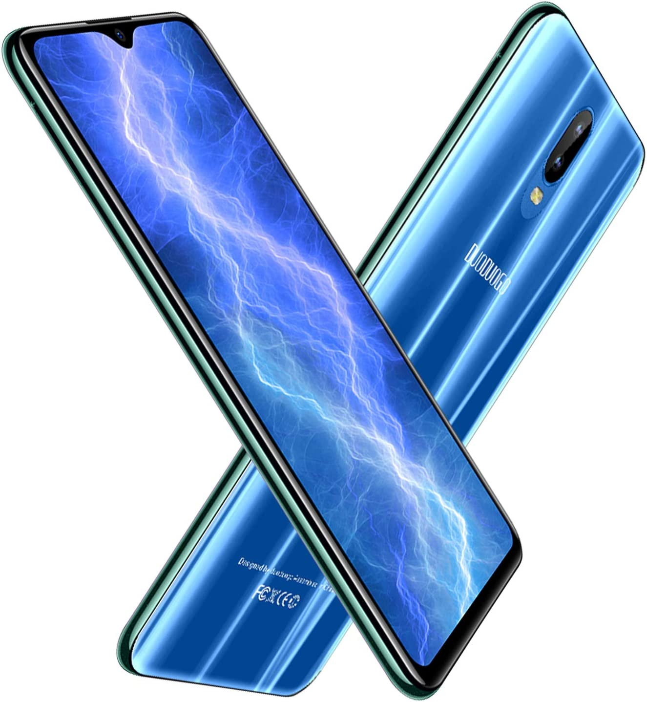 Moviles Libres 4G,6.26 Pulgadas 64GB+4GB RAM,4800mAh Bateria 12MP ...