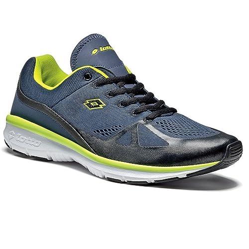 Lotto Sport - Zapatillas de Voleibol de Material Sintético Para Hombre Varios Colores Blu/Verde 43: Amazon.es: Zapatos y complementos