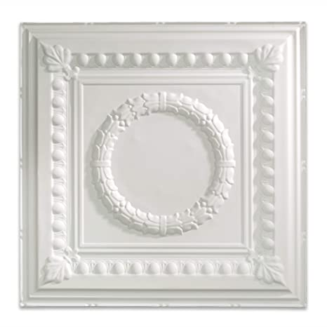 Fasade Pvc Easy Installation Rosette Lay In Ceiling Tile