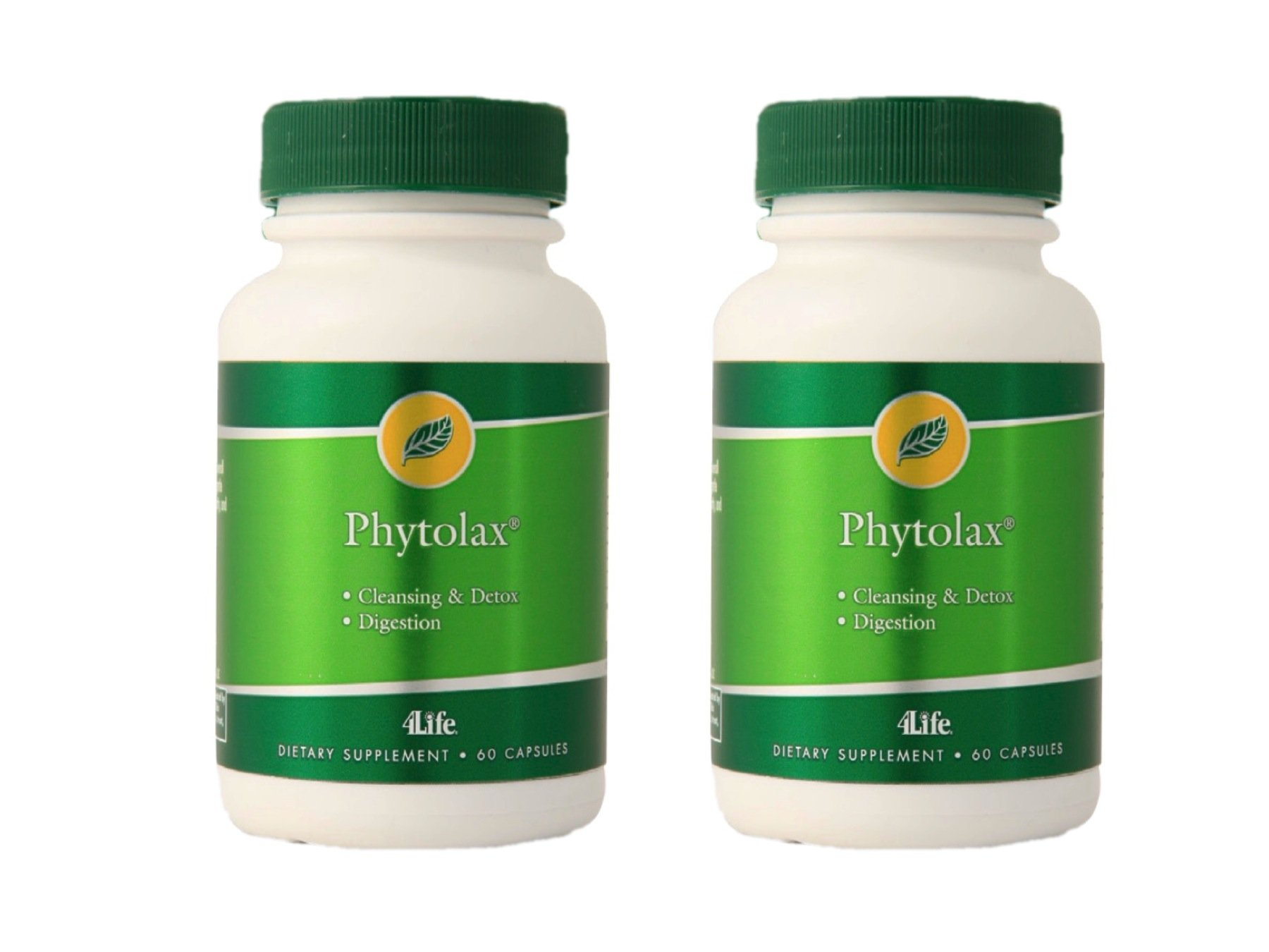 4life PhytoLax with Formula for Healthy Digestive Function 60 capsules each (pack of 2)
