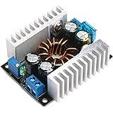 DROK® DC-DC 12V/24V Step-up Boost Converter Adjustable Output Voltage Stabilizer Regolatori di Tensione Power Supply Switching Transformer fai da te 10-32V/8-46V a 8-46V Electronics Voltage Transfering Convertitore Model Board