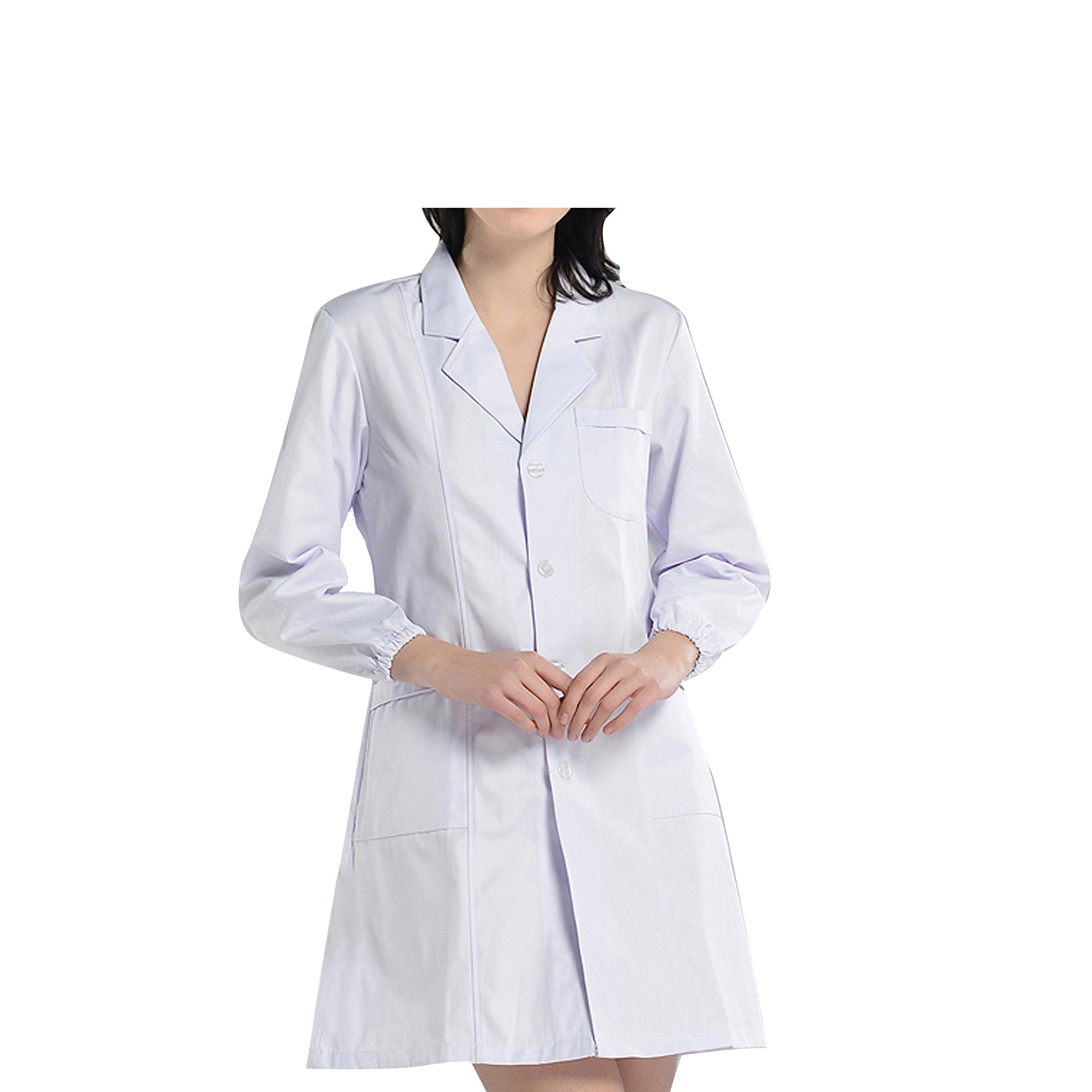 BSTT Donna Camice da Laboratorio Bianca Abbigliamento da Lavoro e Divise  Nuovo miglioramento product image c3b262c96c40