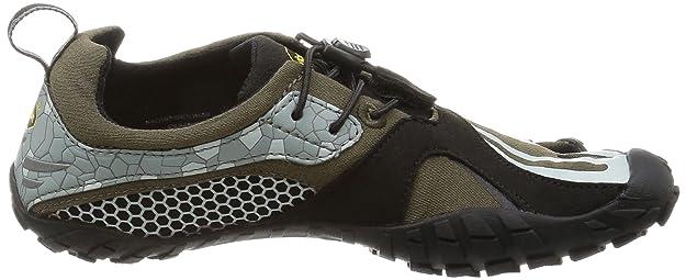 Vibram Fivefingers Escarpines Trekking Light/Running W4125 Spyridon LS Oliva/Gris/Negro EU 37: Amazon.es: Zapatos y complementos