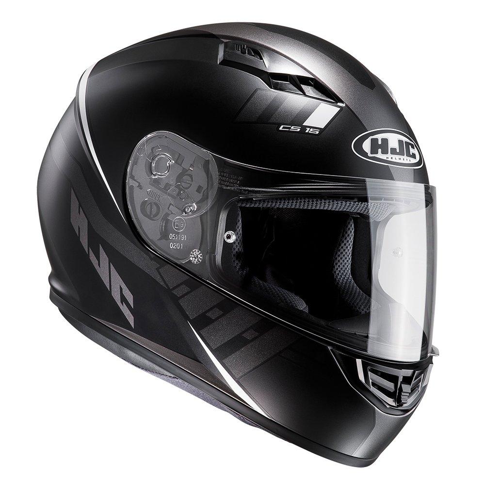 HJC CS-15 Space Black Full Face Motorbike Motorcycle Helmet MC5SF S