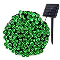 Qedertek Solar String Lights Outdoor, 200 LED 72 ft Waterproof Solar Fairy Lights for Wedding, Garden, Home, Patio, Porch, Lawn, Party and Holiday Decorations