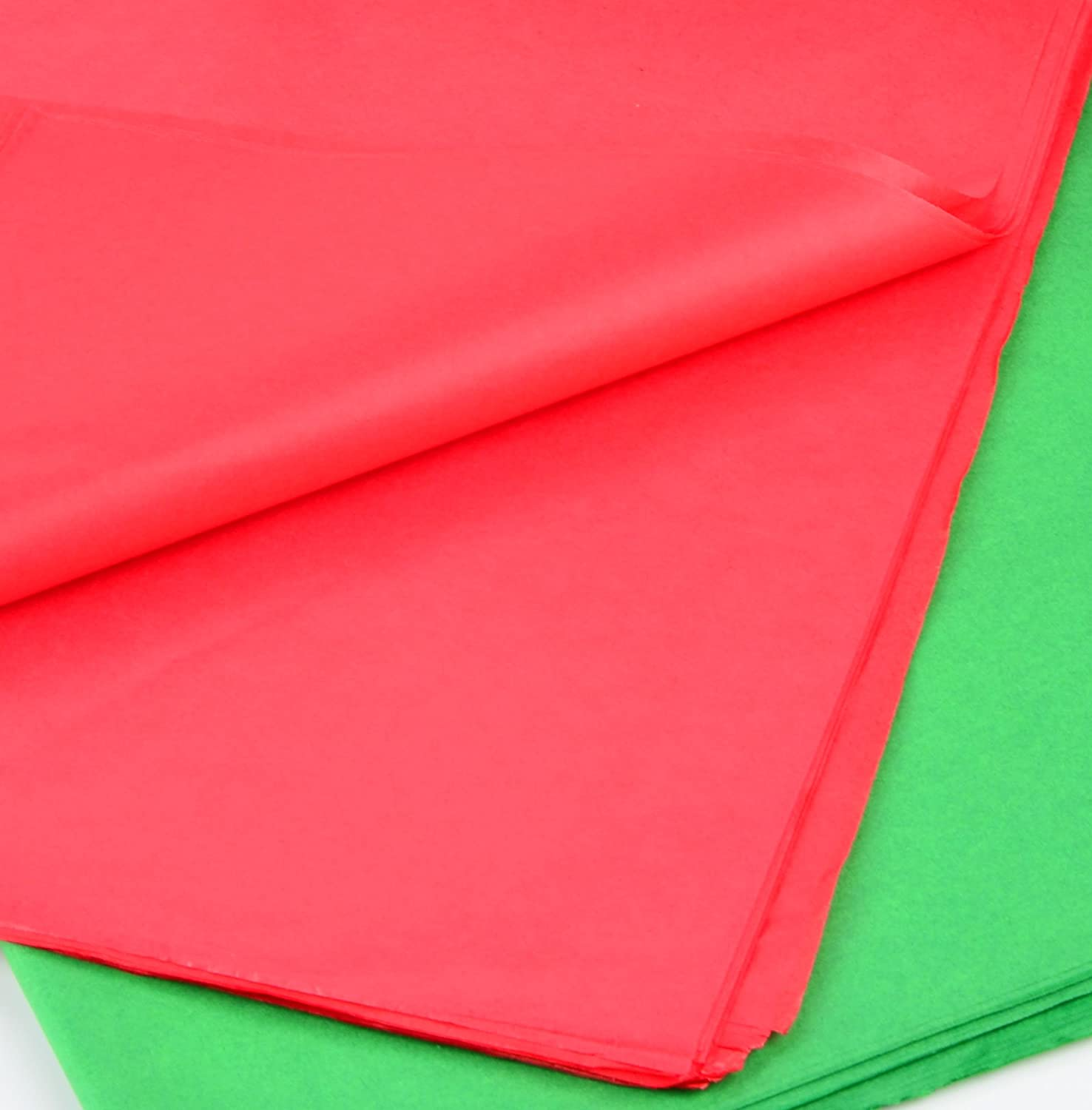; 120 Sheets per Color Easy and Fast Gift Wrapping Accessory for Christmas Gifts and Wine Bottles 360 Sheets 20 x 20 Christmas Tissue Paper Assortment Red, Green /& White