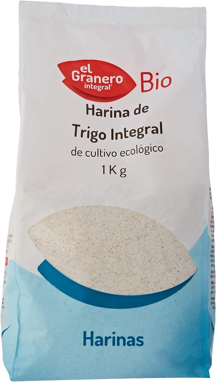 HARINA TRIGO INTEGRAL BIO 1 Kg: Amazon.es: Salud y cuidado personal