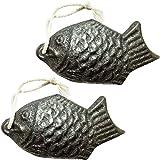 GARYOB 鉄たまご お料理の道具 鉄の健康鯛 鉄分補給 鉄玉 約 7.87cm x 3.98cm 2個セット
