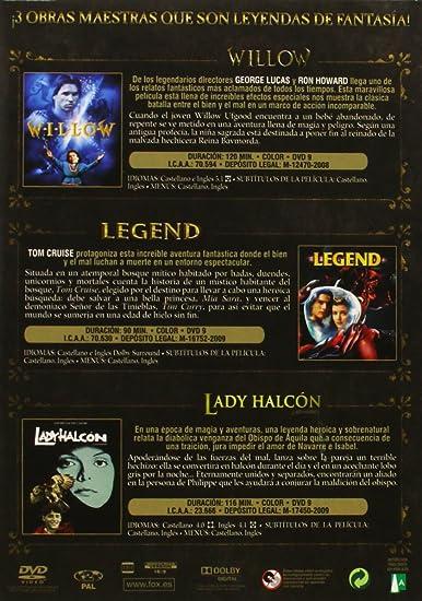 Col. Leyendas De Fantasia Willow /Legend / Lady Halcon DVD ...