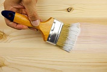 5L Holz Klarlack Glänzend Universal Lack Farbe Für Metall, Stein, Holz    Klarlack Streichen