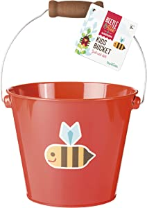 Beetle & Bee Kids Bucket (Color May Vary)